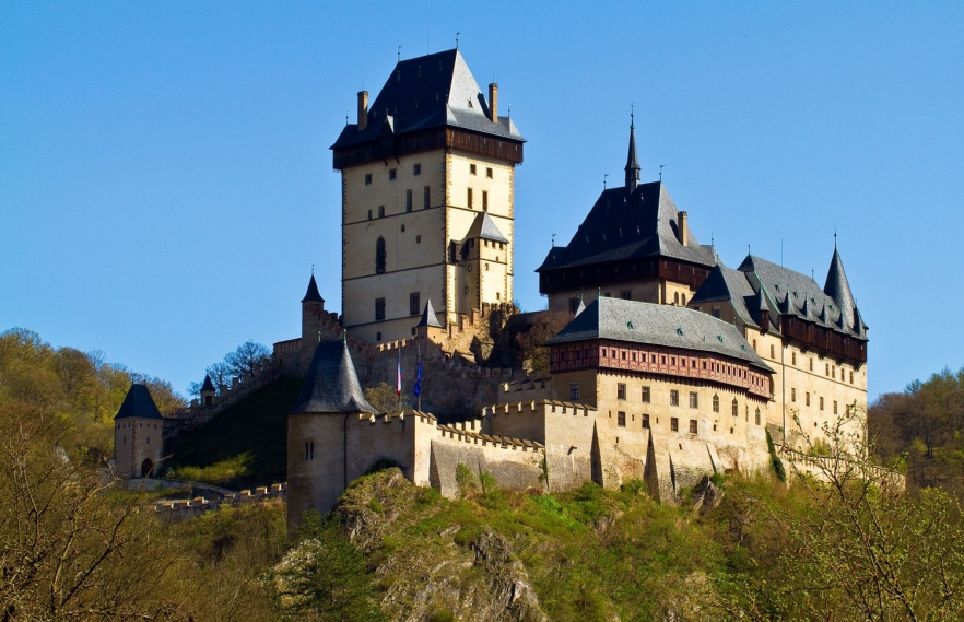 Karlstejn Castle View